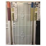 """36"""" Catalina White Security Storm Door"""