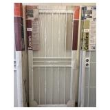 "36"" Tuscan White Security Storm Door"