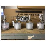 Kichler 45284AP Four Bulb Vanity Light Pewter