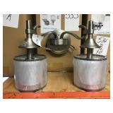 Kichler 45282AP 2 Bulb Vanity Light Pewter