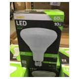 60W LED Floodlight x 12 bulbs