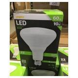 60W LED Floodlight x 24 bulbs