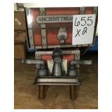 4in Ancient treasures Spread Faucet x2
