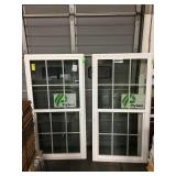 Ply Gem single hung window x2