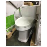 """17"""" White Elongated One Piece Complete Toilet"""