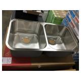 """9"""" Kindred Double Bowl SS Kitchen Sink"""