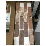 Brick veneer sheets x50 sq ft.
