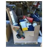 Large box of miscellaneous good sold one money.