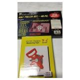MEASURING TAPE & BOLT PULLER SET  (2 PIECES ONE $)