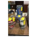 MIXED PAINT **AS IS (7 CANS ALL ONE $$)