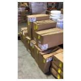 10 BOXES OF FURNACE FILTERS
