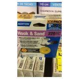 """HOOK & SAND 220 GRIT 5"""" SAND PAPER"""
