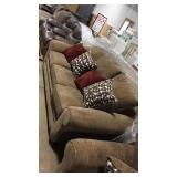 "96"" Couch w/ accent pillows"
