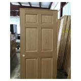 "36"" LH 6 Panel Oak"