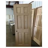 "28"" LH 6 Panel Oak"