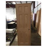 """24"""" RH 6 Panel Oak"""