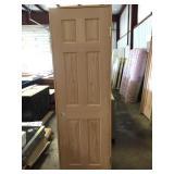 "24"" LH 6 Panel Oak"