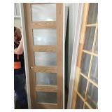 """5 glass panel  24"""" x 80"""" right hand door"""