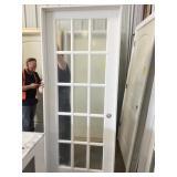 """15 lite 28"""" x 80 white door"""