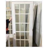 """15 lite 28"""" x 80"""" white door"""