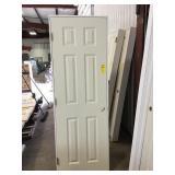 """26"""" x 78"""" MDF 6 panel door"""