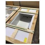 Kohler cast iron skirted white tub