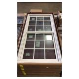 Andersen Woodright white double hung window