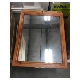 Two Door Mirrored Medicine Cabinet