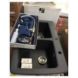 Franke Black Composite Granite Kitchen sink