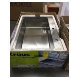Kraus Single bowl Kitchen Sink
