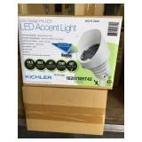 Kichler LED White Accent Light x 4
