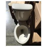 12 in. Biscuit Elongated Gerber Toilet