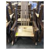 26 in. x 21 in. Sassafras Single Rocking Chair