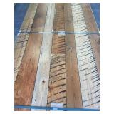 Distressed Hardwood floor x 375 sq ft