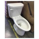 White Gerber Toilet