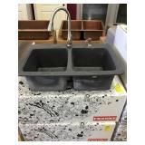 Franke Black Moulded Kitchen sink
