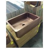 Copper Single Bowl Kitchen Sink