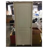 30 in. 2 Panel Interior Left Hand Door