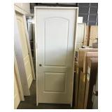 30 in. 2 Panel Interior Right Hand Door- damaged