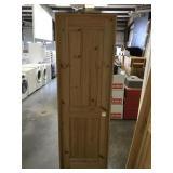 24 in. Left Hand Pine Interior Door