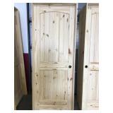 30 in. Left Hand Pine Interior Door