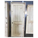 30 in. Right Hand Pine Interior Door