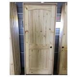32 in. Left Hand Pine Interior Door