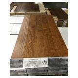 Birch hand scraped bronze wood flooring X525