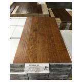 Birch hand scraped bronze wood flooring X656