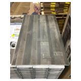 Multi Strip Iron Vinyl Click Floor x 767