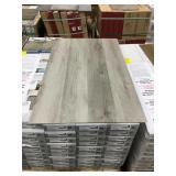 Nickel Finished Oak Vinyl Click Floor x 767