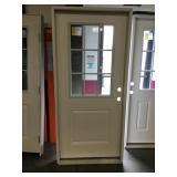 """36"""" LH 9 Lite Fiberglass Door"""
