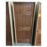 """32"""" RH Interior Prefinished Oak Door"""