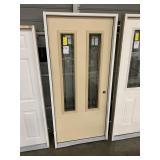 36in x 80in LH fiberglass twin lite door